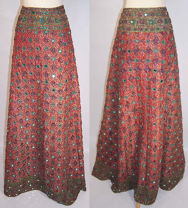 Easy to Sew Lehenga Skirt Tutorial
